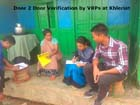Door to Door Verification by VRPs at Khlieriat C&RD Block