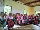 VRP Training at South West Garo Hills District