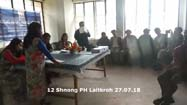 Public Hearing at Khadarshnong Laitkroh C&RD Block (27th July 2018)